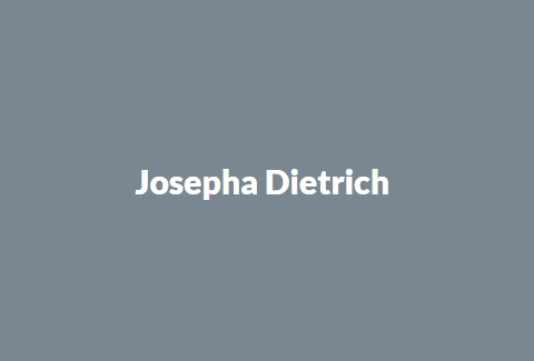 Josepha Dietrich - Author